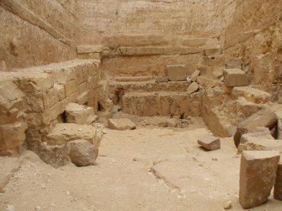 Boden der Pyramide